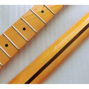 Finished One Piece Canadian Maple Electric Guitar Neck 22 Fret pictures & photos