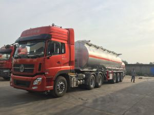 Dongfeng 6*4 Tractor and The 3 Axles Fuel Tanker Semi Trailer pictures & photos