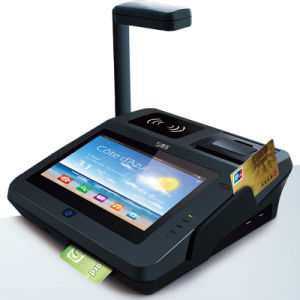 Jepower Jp762A Android Bill Payment Machine Support Card/NFC/2D Barcode/3G with EMV Certificate pictures & photos