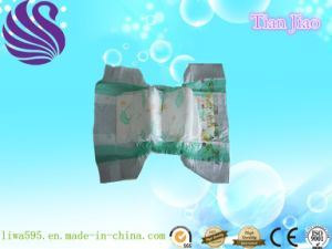 Disposable Soft and Absorbent Baby Diaper pictures & photos