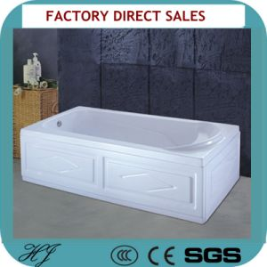 Rectangle Shape Freestanding Hot Tub (418) pictures & photos