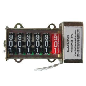 Mechanical Counter for Energy Meter with 100: 1 pictures & photos