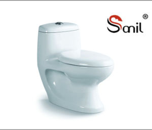 Hot Sale Cheap Price Wash Down One-Piece Porcelain Toilet (S7560) pictures & photos