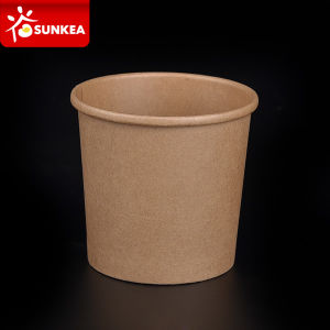 12oz Kraft Paper Soup Cup pictures & photos