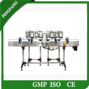 The Newest Gzd100-4 Tabletop Digital Filling Machines for Four Online pictures & photos
