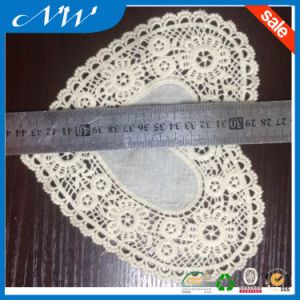 Heart Shape with cotton Fabric Lace Collar pictures & photos