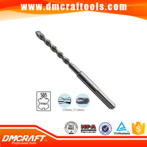 SDS Max Hammer Drill Bit 2 Flute 2 Cutter pictures & photos