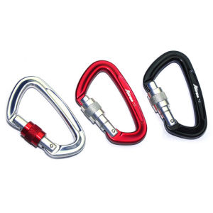 99*61mm Aluminum Safety Carabiner pictures & photos