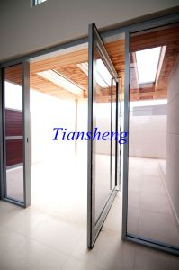 Pivot Hinge Door and Pivot Entry Doors for Modern House or Commercial Building as Entrance Door pictures & photos