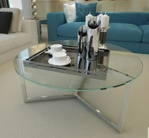 Good Quality Fashionable Glass Coffee Table pictures & photos