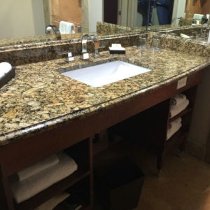Giallo Veneziano Fiorito Granite Vanity Tops pictures & photos