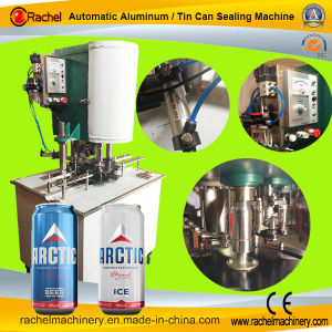 Fruit Pulp Can Automatic Can Sealing Machine pictures & photos