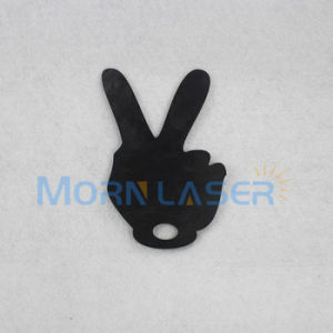 Metal Logo Design Metal Jewelry Brass Laser Cutting Machine pictures & photos