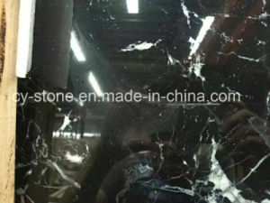 Chinese Black Marble for Wall and Flooring Tile pictures & photos