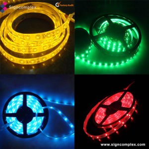 5050 Slim PU Glue Potted Waterproof IP65 Strip Car Lights LED with CE RoHS pictures & photos