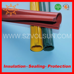 110kv High Voltage Silicone Rubber Overhead Line Insulation Sleeves pictures & photos