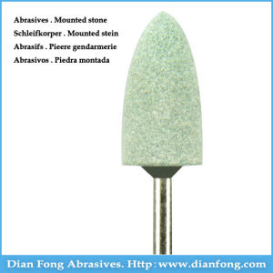 G-09 Silicone Carbide Maded Mounted Stone Centerless Grinding Burs pictures & photos