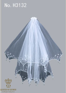 2015wild Hand-Beaded Bride Wedding Dress Veil