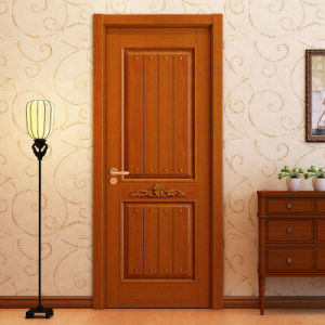 Oppein Classic Oak Solid Wood Carving Interior Door (MSZD01) pictures & photos