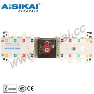 20A 63A 80A Manual Generator Transfer Switches pictures & photos