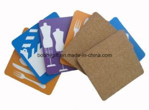 High Quality Paper Cork Coaster for Advertising Gifts pictures & photos