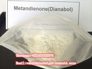 Oral Anabolic Steroid Powder Lean Mass Gain Hormone Metandienone Dianabol pictures & photos