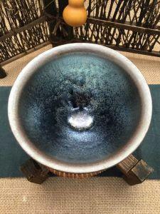 Tenmoku Tea Cup, Ceramic Tumbler, Ceramic Mug, Ceramic Handmade, Matcha Chawan, Tenmoku Glaze, Serving Tea Cup