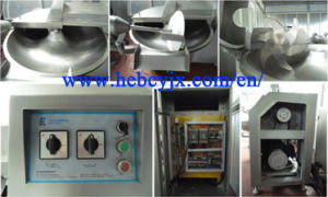 Meat Bowl Cutter Cutting Machine with Ce Certification 60kg Per Time pictures & photos