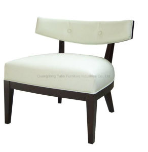 Ramda Hotel Leaisure Chair with White PU Leather pictures & photos