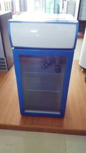Counter Top Cooler/Mini Fridge with Both Side Brand Stickers pictures & photos