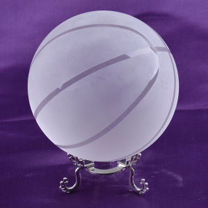 Glass Crystal Basketball for Sports Souvenir Reward pictures & photos