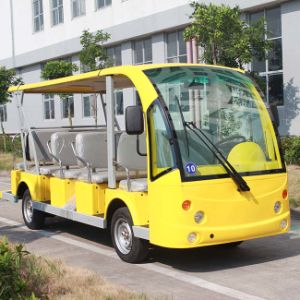 CE Approved 14 Seats Electric Tourist Bus with OEM Service Provided Dn-14 pictures & photos