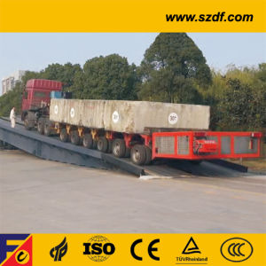 Auxillary Drive Hydraulic Modular Trailer /Auxillary Drive Hydraulic Modular Transporter -Spmt (SPT) pictures & photos