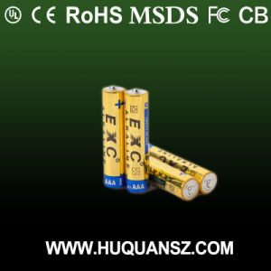 1.5V AAA Lr03 Alkaline Battery Dry Battery Flash Light pictures & photos