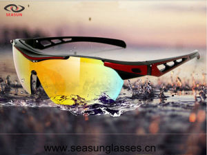 Outdoor Sports Cycling Glasses Bicycle Bike Riding Sunglasses Eyewear Goggle UV400 Lens pictures & photos