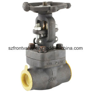 Forged Stainless Steel Threaded/Sw Globe Valve pictures & photos