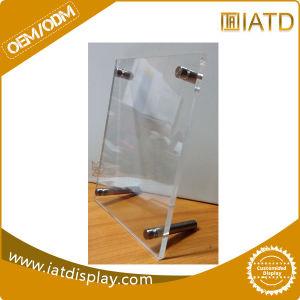 Wholesale Clear Acrylic Countertop Plastic Holder Menu pictures & photos