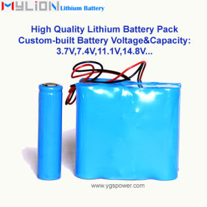 Hight Quality Lithium Battery for Electrical Toys 7.4V5.8ah