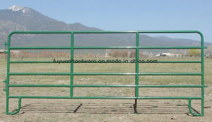 Powder Coating Steel Pipe Whole Set Farm Gate pictures & photos