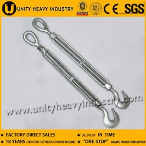 Us Type Hot DIP Galv Forged Jaw Jaw Lashing Turnbuckle pictures & photos