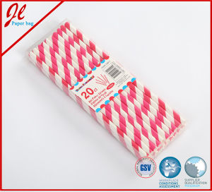 Purple Eco Party Drinking Paper Straw Party Products pictures & photos