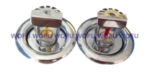 Sidewall Vertical Fire Sprinkler with Escutcheon Plate pictures & photos