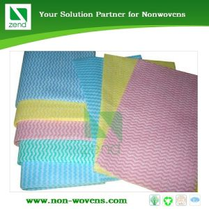Spunlace Nonwoven Fabric Zend (77-363) pictures & photos