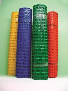 Differenet Color Plastic Safety Fence, HDPE Safety Fence pictures & photos