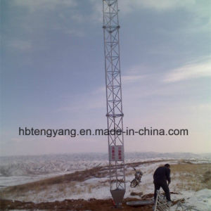 10-80m Guy Wire Steel Telecom Tower pictures & photos