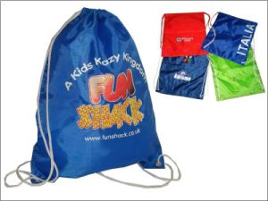 Backpack Drawstring Bag Made of Non Woven, Cotton, Polyester & Nylon pictures & photos