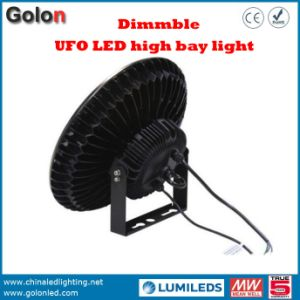 Industrial UFO Highbay Interior Warehouse Lighting Waterproof 130lm/W Sensor Dimmable 240W 200W 100W 60W 150W LED High Bay Light pictures & photos