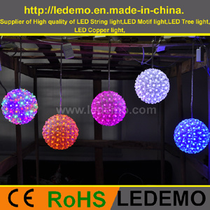 LED Christmas Decorative Flower Ball Light (LEDFB-001) pictures & photos