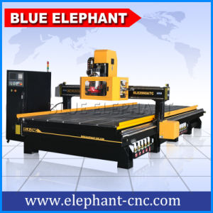 Blue Elephant CNC Atc Mill Router Machine with Automatic/Auto Tool Changer Adopt Syntec 6MB Control System pictures & photos