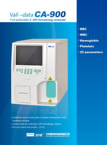 Fully Automatic 3-Diff Hematology Analyzer Ca-900